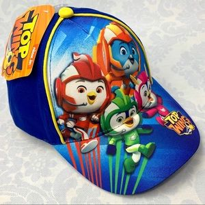 Toddler Boy Top Wing Baseball Cap 2T-4T